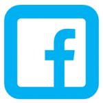Facebbokin logo: sininen f-kirjain