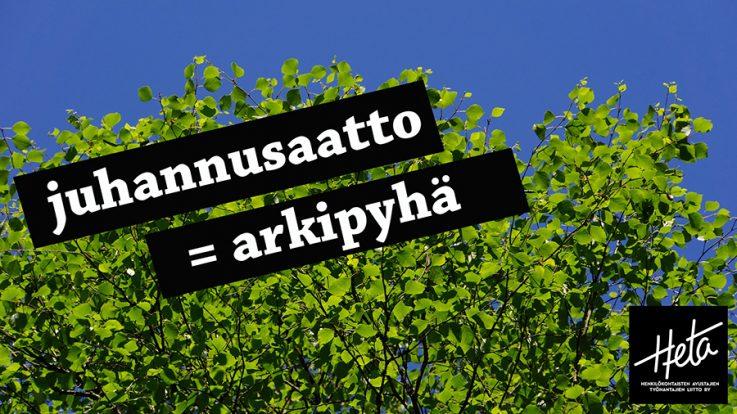 Arkipyhä Palkka
