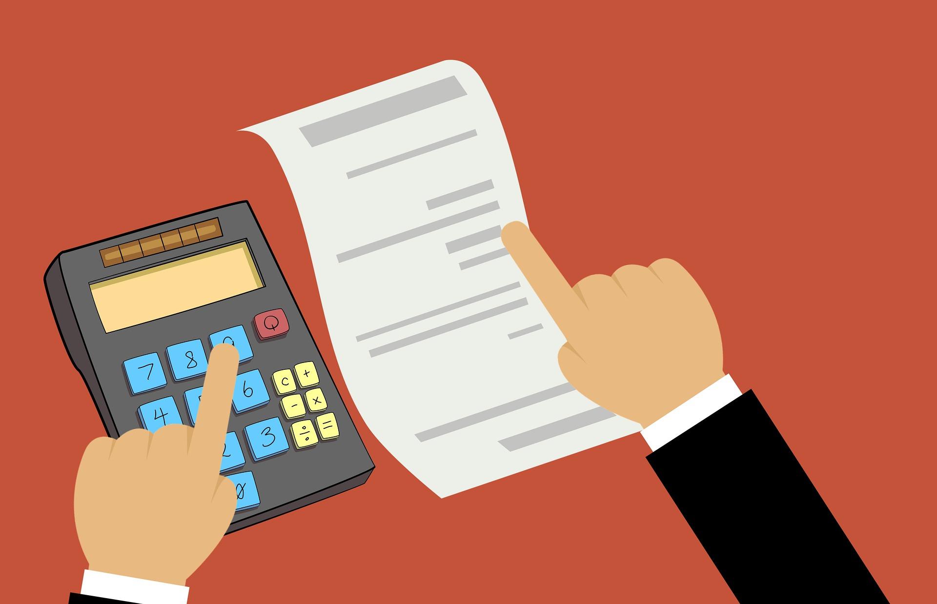 Laskun maksaminen
